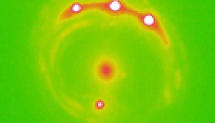 Astronomers Spot Signs of Planets Outside the Milky Way