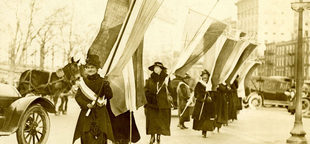 Caption: The Complex History of Women's Suffrage