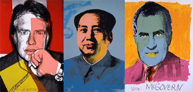 Andy Warhol Pop Politics
