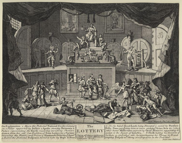 The Lottery by William Hogarth – National Portrait Gallery