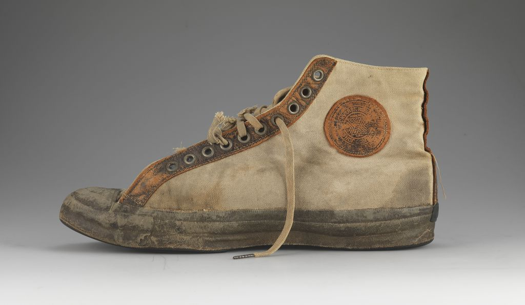 These Converse high-tops look remarkably like today's, but are from 1917.