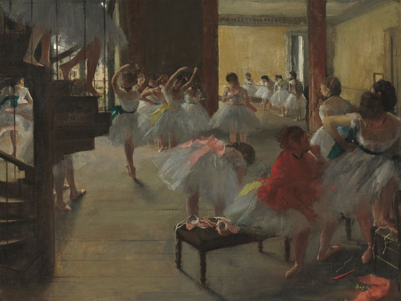 One Hundred Years Later The Tense Realism Of Edgar Degas Still