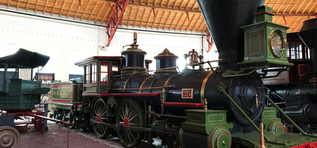 B&O Railroad Museum in Baltimore