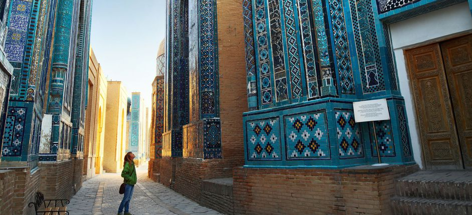The Silk Road: A Journey to Central Asia <p>Explore the fabled Silk Road&nbsp;as you journey through&nbsp;Central Asia&rsquo;s Five&nbsp;&rsquo;Stans: Turkmenistan, Uzbekistan, Tajikistan, Kyrgyzstan, and&nbsp;<span style=