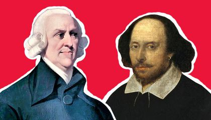 How the Invisible Hand of William Shakespeare Influenced Adam Smith