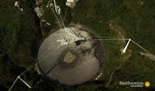 This telescope was built in a massive sinkhole