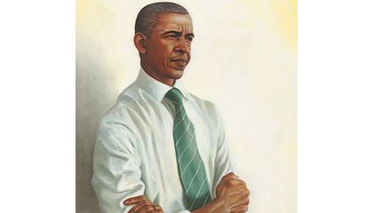 A Portrait of Obama in the Final Days of His Presidency