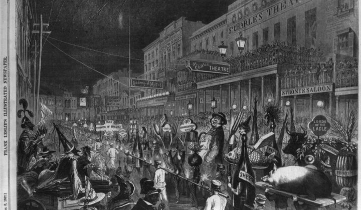 The First Thanksgiving Parades Were Riots