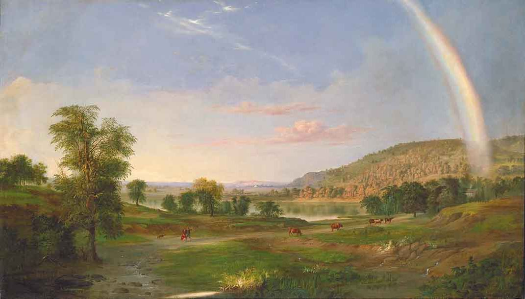 Landscape with Rainbow, 1859