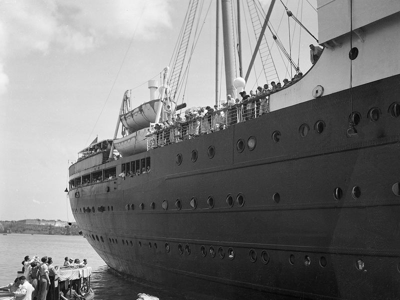 Haunting Twitter Account Shares The Fates Of The Refugees Of The - 1930s cruise ships