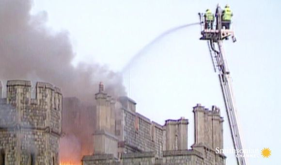 Preview thumbnail for video'The Devastating Fire That Left Windsor Castle in Shambles