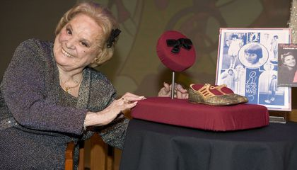 Rose Marie's Black Bow Now in the Smithsonian
