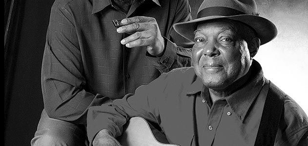 Blues legend John Cephas