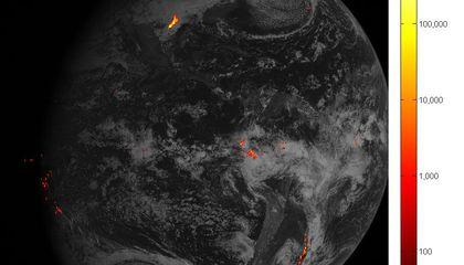 Next-Gen Lightning Tracker Photographs Storms From Space in Stunning Detail