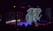 A German Circus Uses Stunning Holograms Instead of Live Animal Performers