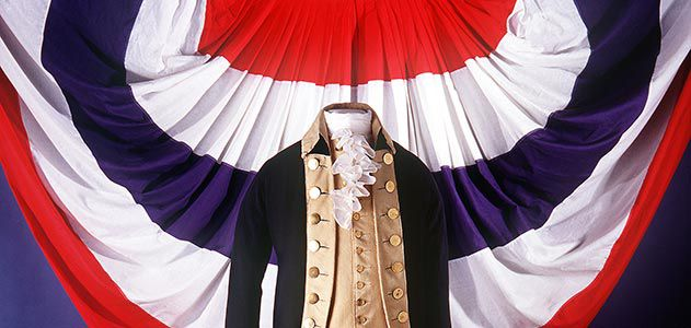 George Washingtons uniform
