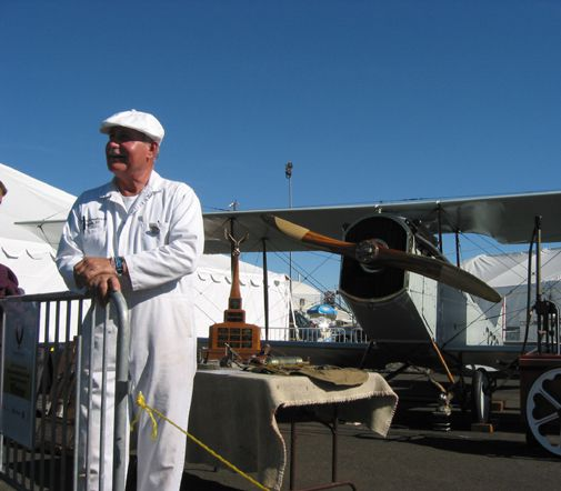 Frank Schelling's 1918 Curtiss JN-4H Jenny takes the prize at Reno.