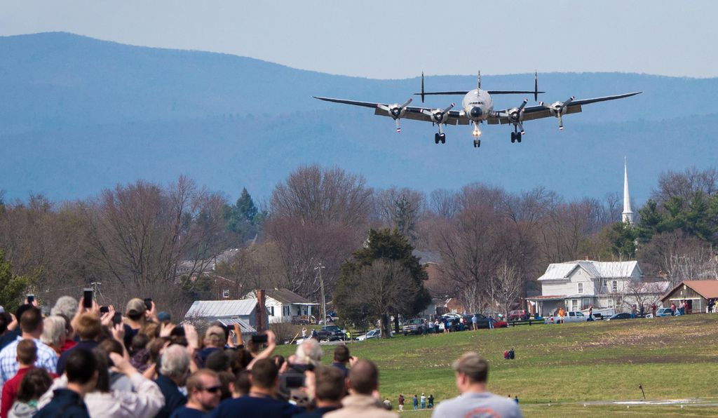 On March 23, 2016, <i>Columbine II</i> entered final approach to Dynamic Aviation's airpark, marking the end of a journey but the beginning of a new life for a former Air Force One.