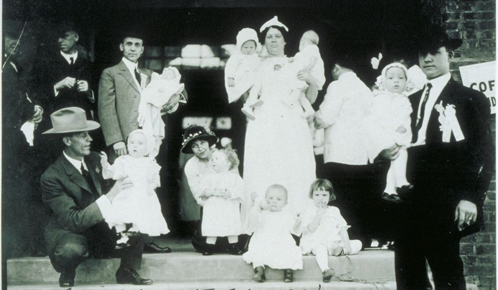 A 1908 baby contest in Louisiana