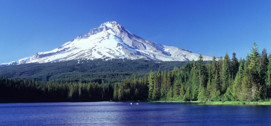 The dramatic Mount Hood