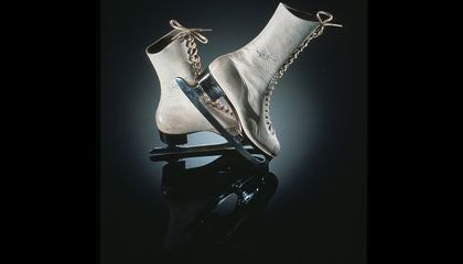 The First Ice Skates Werent For Jumps And Twirlsthey Were