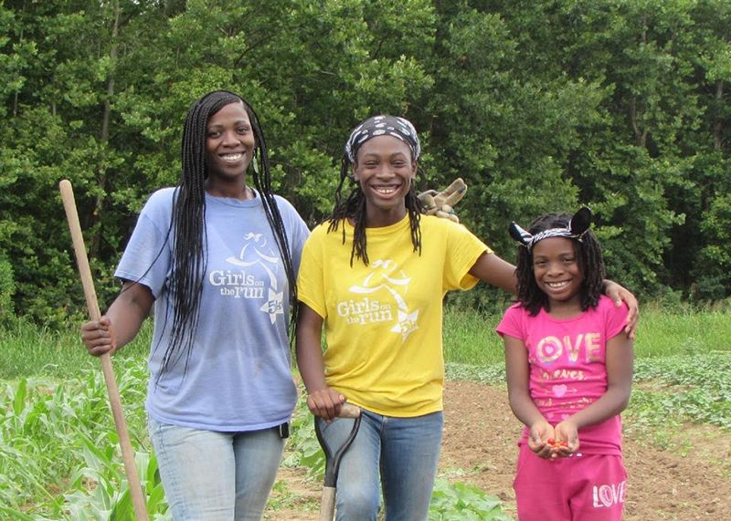 Xanthia DeBerry and her daughters.jpg