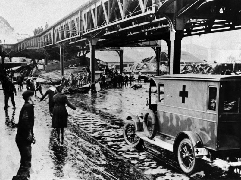 Without Warning, Molasses Surged Over Boston 100 Years Ago This Week