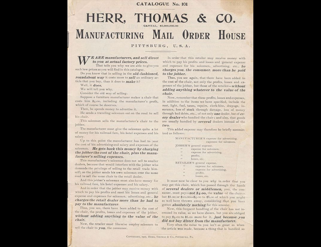 Cover of Herr, Thomas & Co.
