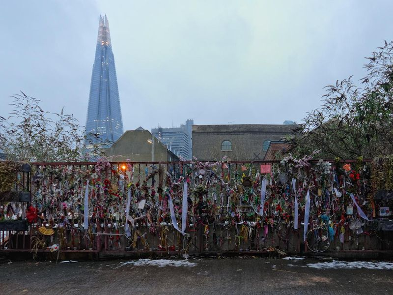 Cross Bones Graveyard Shrine Wide