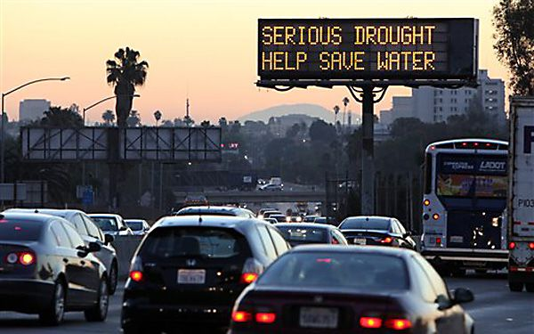 Celebrities raise awareness of California drought