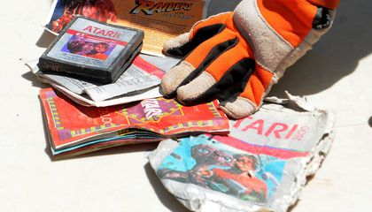 Atari Games That No One Wanted Now Selling for $500 a Pop