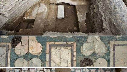 An Early Christian Church May Have Been Found in Rome