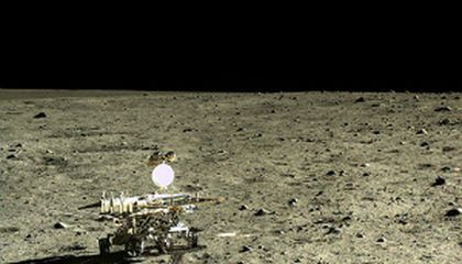 Stuck Chinese Moon Rover Sends Back Lunar Insight blog image