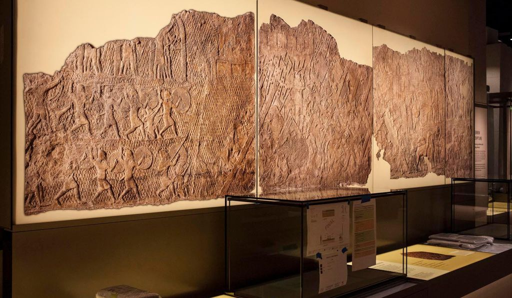 Ancient manuscripts on display in the Museum of the Bible's
