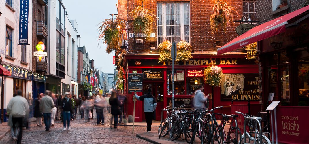 In the heart of Ireland's Dublin