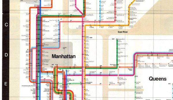 Massimo Vignelli 1972 Nyc Subway Map.Remembering Massimo Vignelli The Innovator Who Streamlined Design