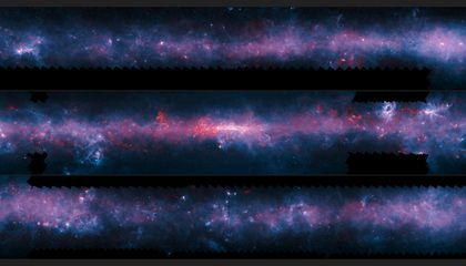Marvel at the Newest Map of the Milky Way