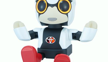 Toyota Hopes This Adorable Robot Will Make Japan Less Lonely
