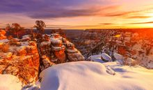 Grand Canyon and Sedona in Winter
