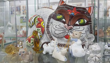 Poland's Only Cat Museum Puts Couple's Private Collection of Trinkets on Display