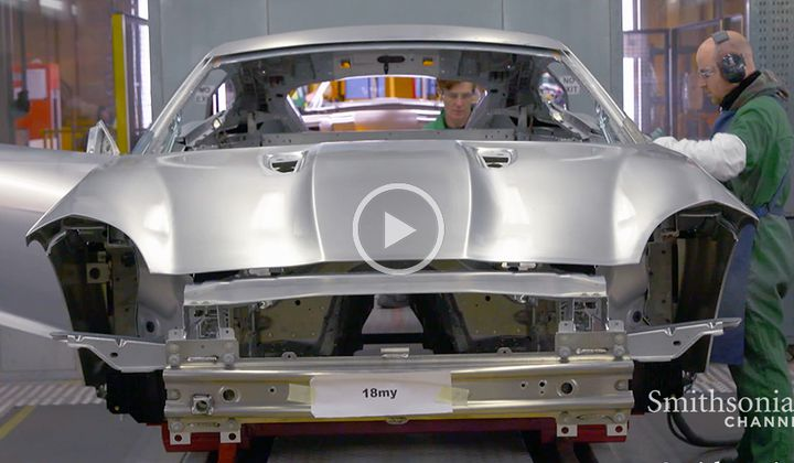 Jaguar Uses Aerospace Aluminum to Build Its Cars