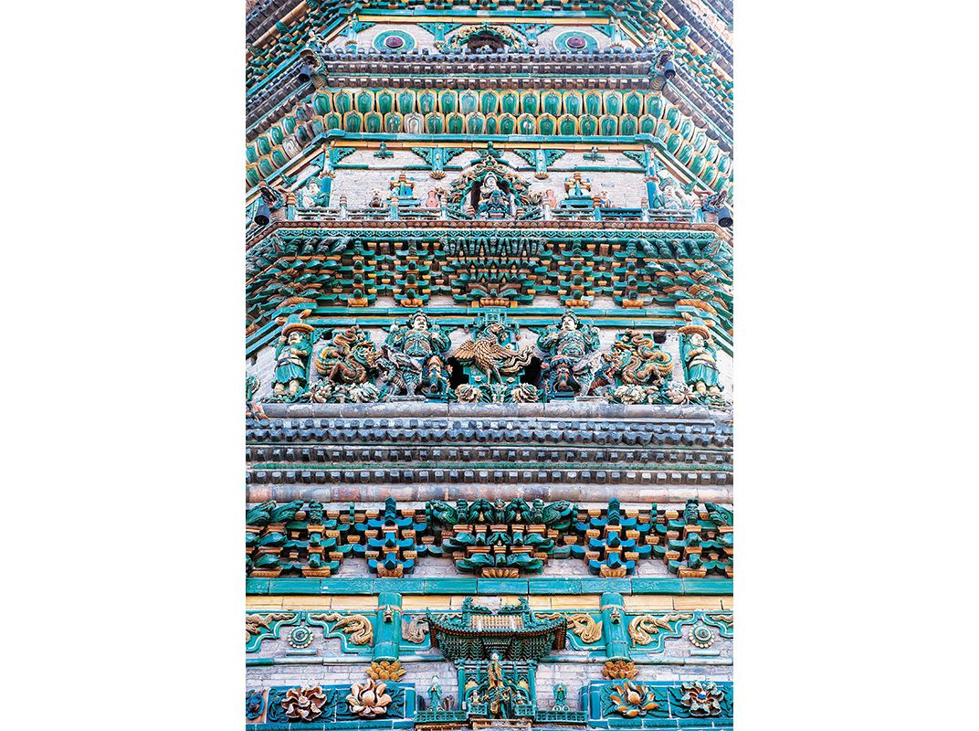 The couple who saved chinas ancient architectural treasures before the magnificent 150 foot high flying rainbow pagoda at guangsheng is the largest and best preserved colored glazed tile structure of its kind in china biocorpaavc Gallery