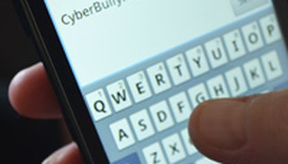 Image: Students stand up, rally against cyberbullying