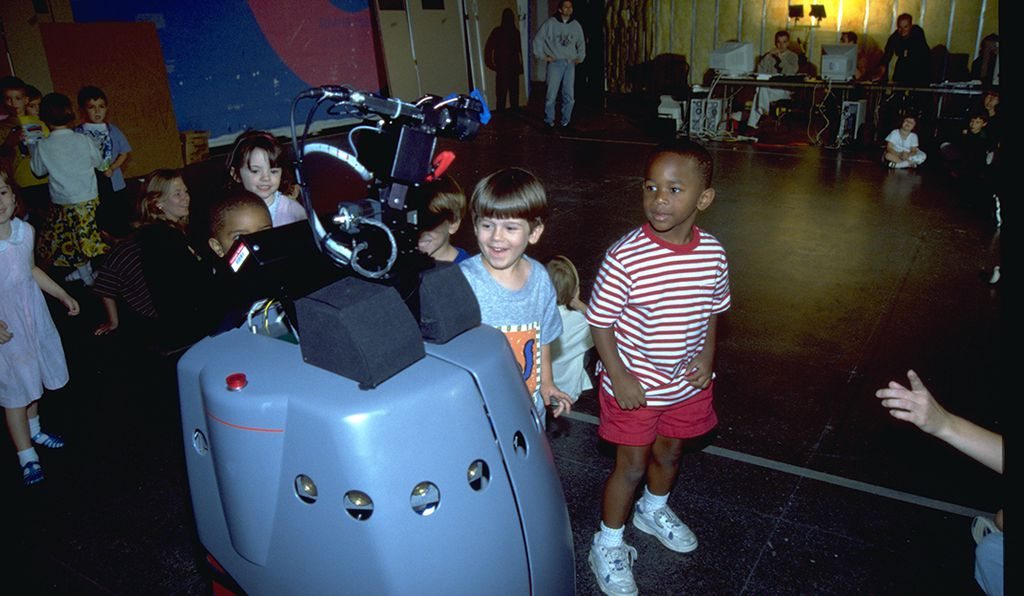 In 1998, the robot