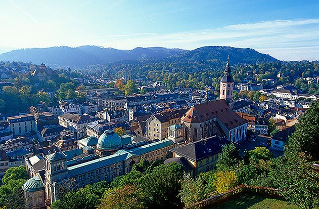 Baden Baden Germany New Castle