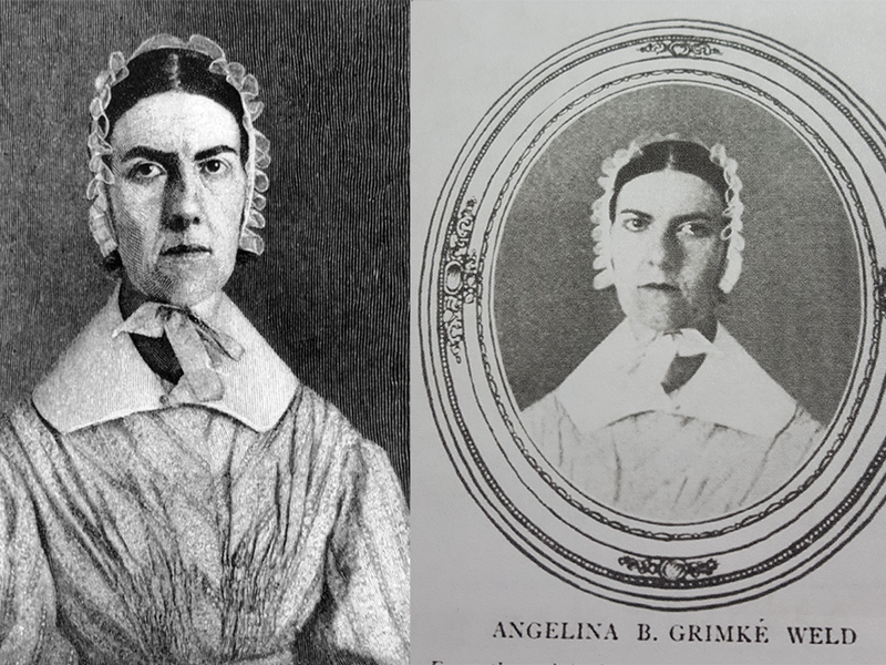 angelina grimke speech