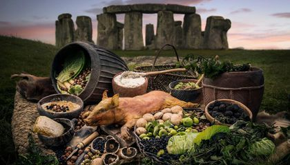 Stone Age Britons Feasted While Building Stonehenge