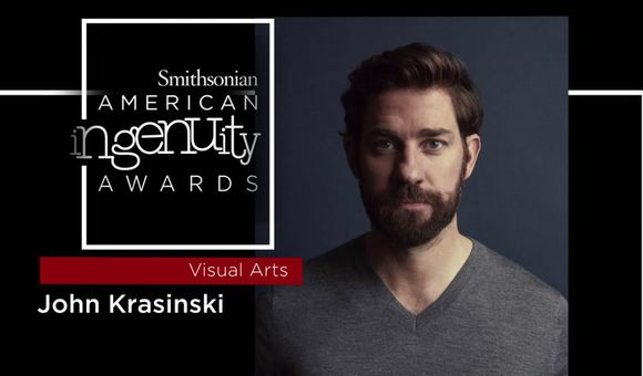 Preview thumbnail for video'Smithsonian Ingenuity Award Winner: John Krasinski