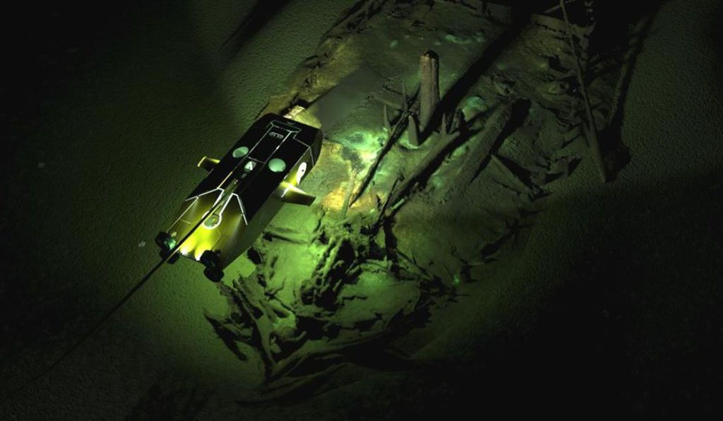 This Byzantine wreck is one of over 40 ancient ships discovered in the Black Sea.