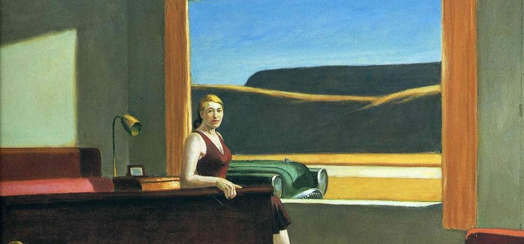Caption: Spend a Night in an Edward Hopper Painting
